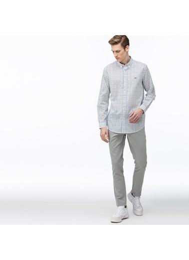 Lacoste Erkek Slim Fit Açık Pantolon HH0024.24H Gri
